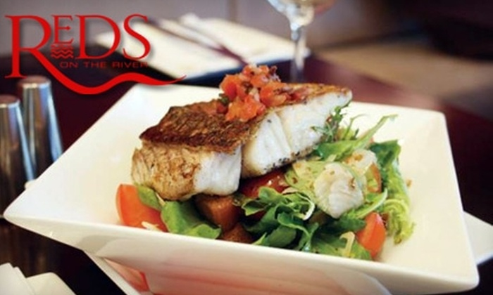 Reds on the River - Rockford: $25 for $50 Worth of Dinner Fare or $15 for $30 Worth of Lunch Fare at Reds on the River