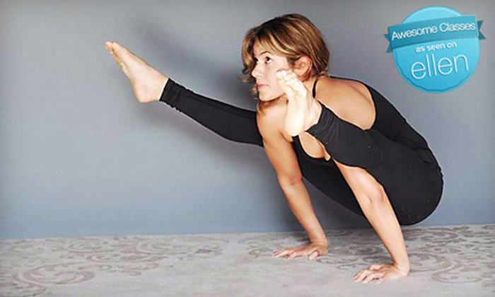 YogaOne Studios - Midtown: 10 Classes or One Month of Unlimited Classes at YogaOne