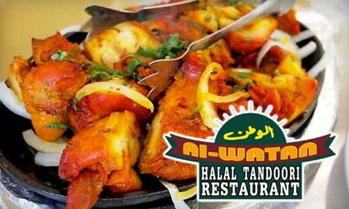 Al Watan Restaurant - Hawthorne: $10 for $20 Worth of Indian and Pakistani Fare at Al Watan Restaurant in Hawthorne