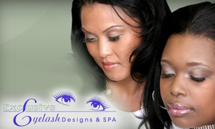 Exclusive Eyelash Designs & Spa - Richmond Heights: $89 for a Full Set of Eyelash Extensions at Exclusive Eyelash Designs & Spa