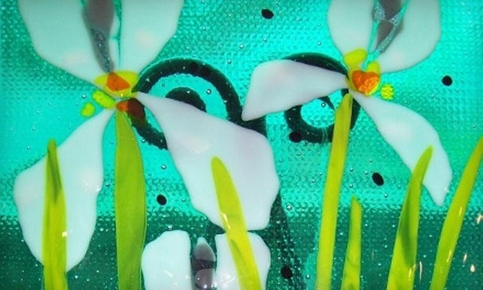 Mor Art - Lincoln City: $47 for an Advanced Fused-Glass Workshop at Mor Art in Lincoln City ($95 Value)