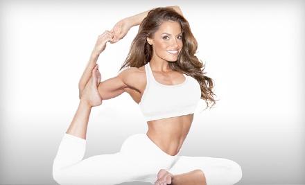 Stratusphere Yoga Studio: Good for a Five-Class Package - Trish Stratus' Stratusphere Yoga Studio in Vaughan