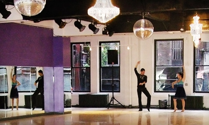 Manhattan Ballroom Dance - Midtown South Central: Four Group Dance Classes or Two Private Dance Lessons at Manhattan Ballroom Dance
