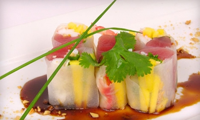 Bambou Asian Tapas & Bar - Greenwich: $25 for $50 Worth of Sushi, Asian Fusion Fare, and Drinks at Bambou Asian Tapas & Bar in Greenwich