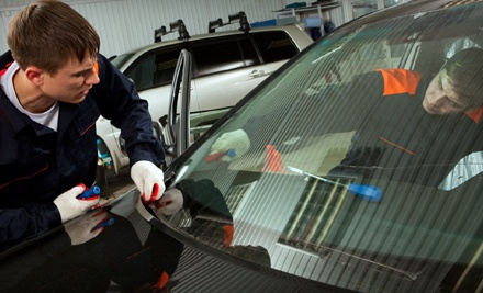 1 Windshield Chip Repair (a $90 value) - Accuracy Glass in Tucker