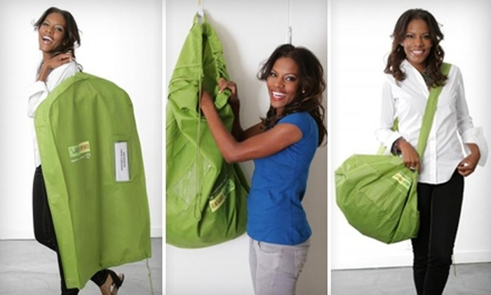Green Garmento: $10 for Two Reusable Dry-Cleaning Bags ($20 Value) from Green Garmento