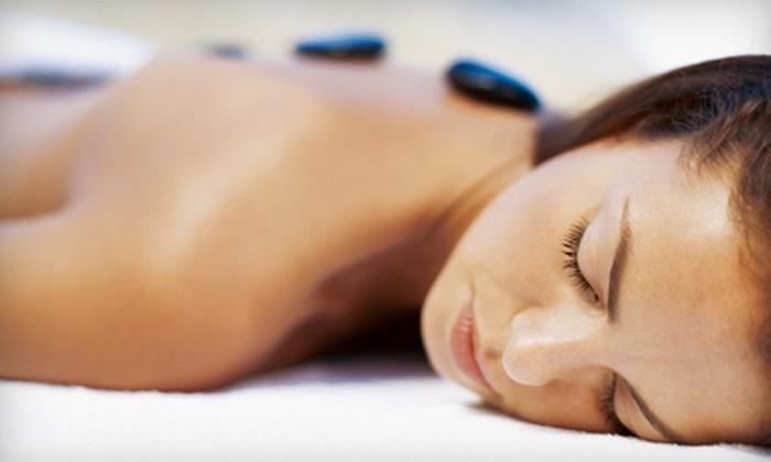 Massage Vital' Spa - Humble: Women's Swedish Hot-Stone Massage with Optional Cold-Stone Face Massage at Massage Vital' Spa in Humble (Up to 59% Off)