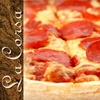 $10 for Pizza and More at La Corsa