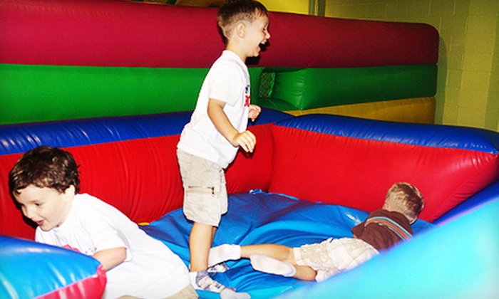 HippoHopp - Lawrenceville: $12 for an Indoor-Playground Family Card at HippoHopp in Duluth ($24 Value)