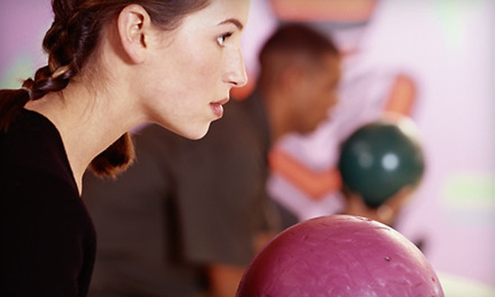 Star Zone Bowling - Norcross: New Year's Package for One or Two or Two-Hour Bowling Outing for 6 or 12 at Star Zone Bowling in Duluth (Up to 73% Off)
