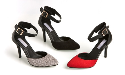 Sociology Women's Two-Piece Pump | Groupon Exclusive