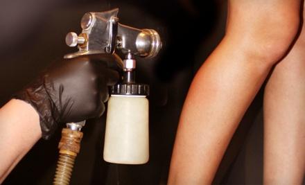 1 Spray-Tan Session (a $35 value) - Vanity Salon in Mt Pleasant