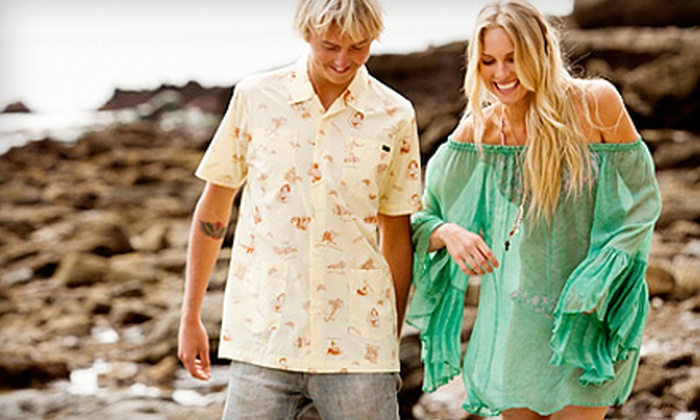 Swell: $20 for $40 Worth of Men's and Women's Apparel and Accessories from Swell.com