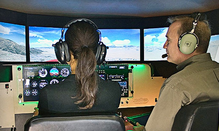 WNC Aviation - Asheville: $35 for 30-Minute Flight-Simulator Experience at WNC Aviation in Fletcher ($70 Value)