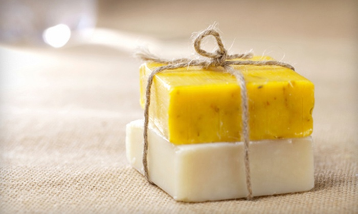 Lady-K Soaps - Cedar Hill: Beginner or Advanced Soap-Making Class for Two at Lady-K Soaps in Cedar Hill