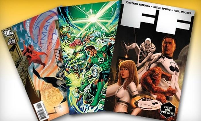 Illusive Comics & Games - Santa Clara: $5 for $12 Worth of Comics, Trading Cards, and More at Illusive Comics and Games in Santa Clara