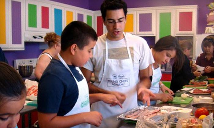 Young Chefs Academy - Stone Oak: KinderCooks, Junior Chefs, or Senior Chefs Class at Young Chefs Academy (Half Off)
