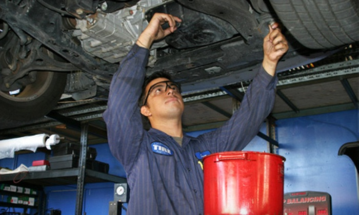 Auto Care Special - Multiple Locations: $33 for Auto-Maintenance Package with Three Oil Changes, Two Tire Rotations, and Diagnostics from Auto Care Special ($189.99 Value)