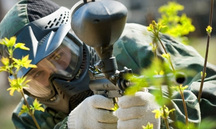 Silver Spur Splat Paintball - Princeton: $7 for One Day of Paintball, Including a Marker, Nine Ounces of CO2, and 100 Paintballs at Silver Spur Splat Paintball ($15 Value)