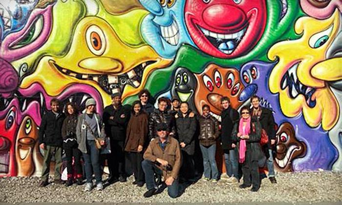 Graffiti Tours Philadelphia - Avenue of the Arts South: Graffiti Walking Tour for Two, Four, or Six from Graffiti Tours Philadelphia