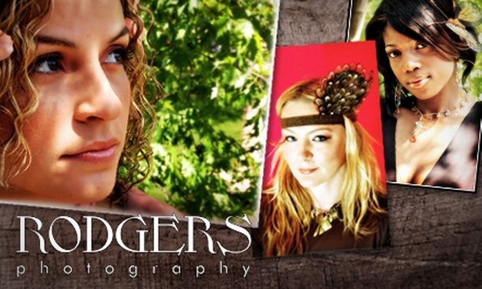 """Rodgers Photography - Indianapolis: $99 for a Two-Hour On-Location Senior-Portrait Session, CD of Images, 8""""x10"""" Print, and 10 Wallet Prints from Rodgers Photography"""