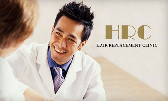 Hair Replacement Clinic - Miami: $99 for Three Months of Laser Hair-Restoration Treatments at Hair Replacement Clinic ($975 Value)