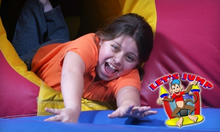Let's Jump - Fort Worth: $25 for 10 General Admissions or $50 Toward Inflatable Rentals at Let's Jump in Keller