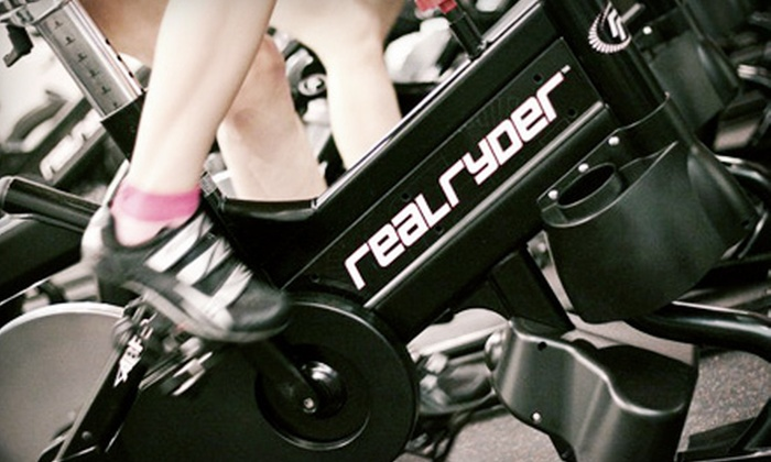 Beachside Ryde - West Palm Beach: 10 or 20 Real Ryder Fitness Classes with One TRX Intro Session at Beachside Ryde in West Palm Beach (Up to 68% Off)