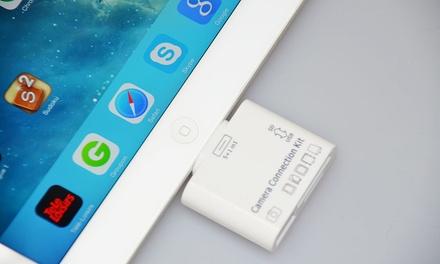 Kit de transfert 5 en 1 compatible iPhone 4/iPad 2/iPhone 5/iPhone 6S/6S+/7/7S/iPad air/Samsung dès 6,95€ (jusqu'à -77%)