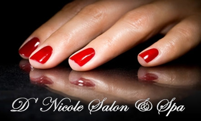D'Nicole Salon & Spa - Washington: $35 for a Spa Mani-Pedi at D'Nicole Salon & Spa ($75 Value)