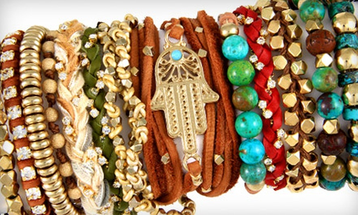 Ettika: $25 for $50 Worth of Jewelry and Accessories from Ettika