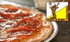 at Hometown Pizza - Jonestown: $5 for $10 Worth of Take-Home Pizza and More at Hometown Pizza in Jonestown