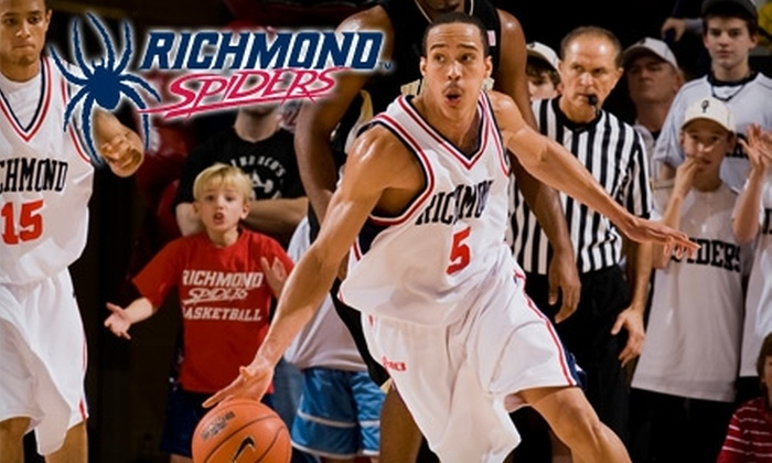 University of Richmond Athletics - University of Richmond: $10 for Premium Seating Ticket to University of Richmond Basketball Game ($20 Value). Choose From Two Games.