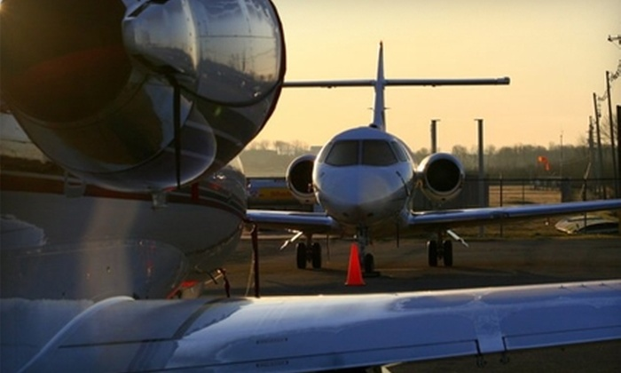 DJ Aviation - East End: $400 for a Private Jet to Traverse City with DJ Aviation ($895 Value)