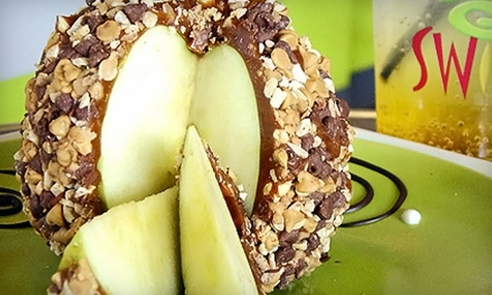 Swirl Candy Apple Co. - Canoga Park: $5 for $10 Worth of Candy Apples, Dipped Desserts, and More at Swirl Candy Apple Co. in Canoga Park