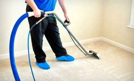 Carpet-Cleaning Services for Two 250 Sq. Ft. Rooms (a $125 value) - CleanCo in
