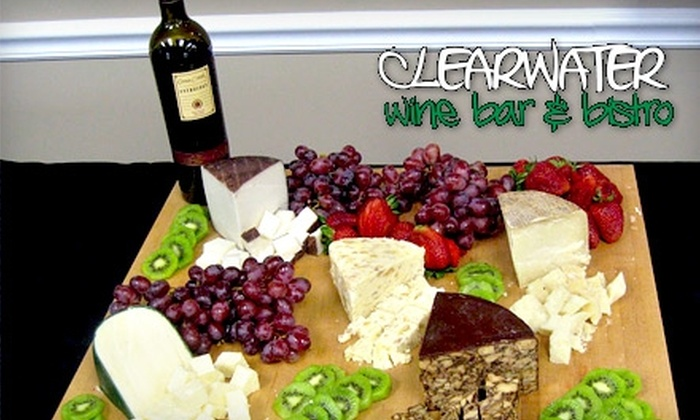 Clearwater Wine Bar & Bistro - Clearwater: $17 for $35 Worth of Dining and Drinks at Clearwater Wine Bar & Bistro