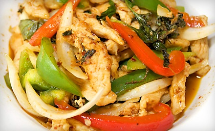 $16 Groupon to Lai Thai Kitchen - Lai Thai Kitchen in Grand Rapids