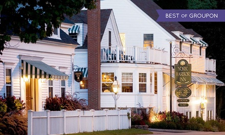 Stay with $25 Dining Credit at York Harbor Inn in York Harbor, ME. Dates into May.