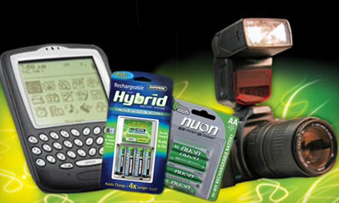 Batteries Plus - Geddes,Southeast Ann Arbor Natural Features Task Force: $10 for $20 Worth of Electronics Supplies at Batteries Plus