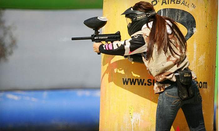 Total Combat Paintball - Otay Ranch: Paintball Package for One or Two at Total Combat Paintball in Chula Vista (Up to 54% Off)