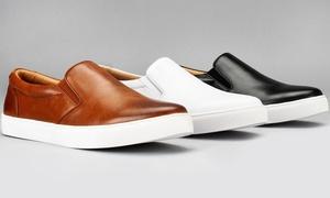 Harrison Royal Men's Slip-On Sneakers