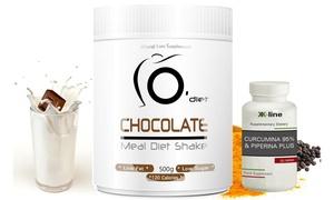 Cure minceur Milk-shake et Curcuma & Pipérine Plus K-Line Line@Diet