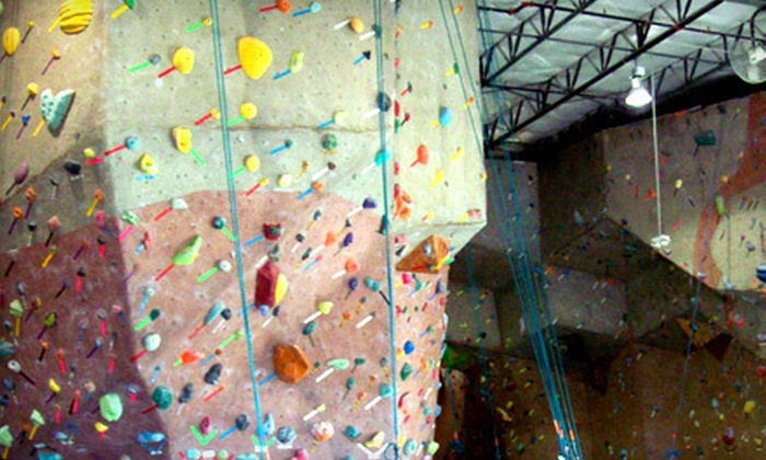 Canyons Climbing Gym - Frisco: 5 or 10 Canyons Climbing Gym Visits with Equipment Rental (Up to 61% Off)