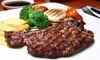Mediterranes Menü mit Grill-Platte