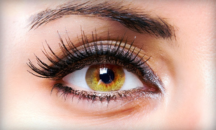 Essentials Hair Salon - Autumn Ridge Homeowners Association: Full Set of Eyelash Extensions with an Optional Two-Week Touchup at Essentials Hair Salon (Up to 76% Off)