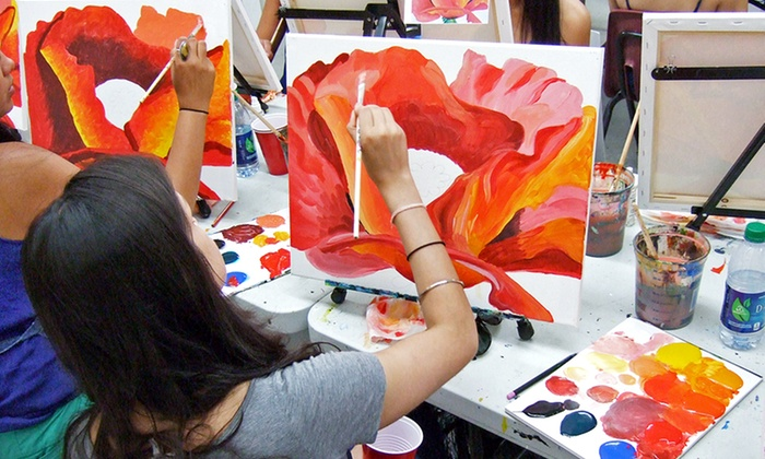 Painting Lounge - Multiple Locations: Two-Hour Painting Workshop for One or Two-Hour Painting Party for Up to 15 at Painting Lounge (Up to Half Off)