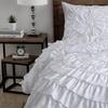 Ruffled Sadie Comforter Set (3-Piece)