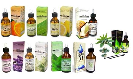Fino a 7 oli essenziali Face Complex disponibili in varie fragranze