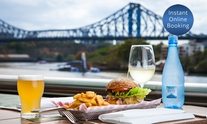 Friday's Riverside: Gourmet Burger with Drink for One ($14), Two ($25) or Four ($45) at Friday's Riverside (Up to $104 Value)